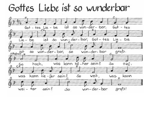 Wunderbar Lied